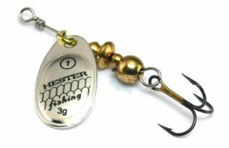 Hester Ospray Spinner 3g - Silver