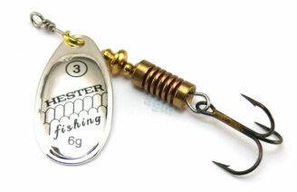 Hester Ospray Spinner 6g - Silver