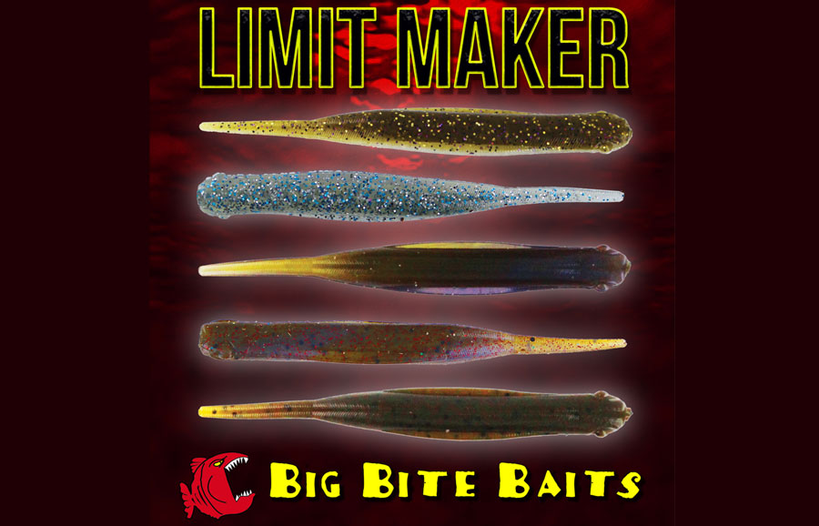 "Big Bite 3.75"" Limit Maker - Vegas Flash (10pcs)"