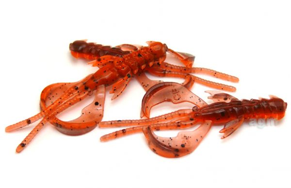 "Crazy Fish 1.6"" Nimble - 8D Orange Coffee (9pcs)"