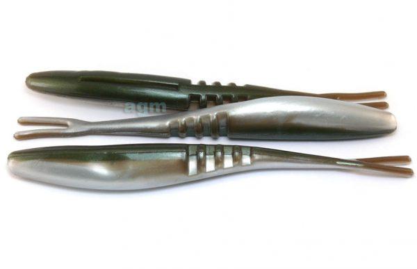 "Big Bite 7"" Jointed Jerk Minnow - Arkansas Shiner (5pcs)"