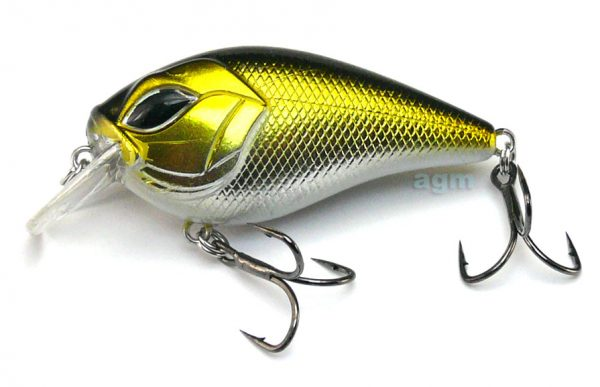 Rapture Sniper Squarebill 50SR - Silver Willow Shiner