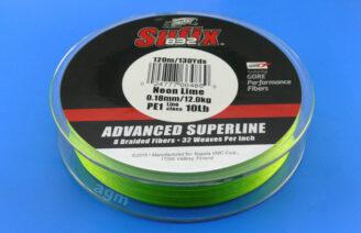 Sufix 832 Braid 12kg/26lb (120mtrs) - Neon Lime
