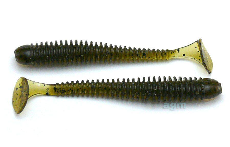 """Crazy Fish 2"""" Vibro Worm - 26 Swamp (8pcs)"""