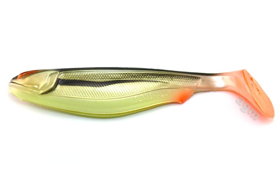 "Crazy Fish Trophy Series 7.8"" Slim Shaddy - C12 Smoked Roach"