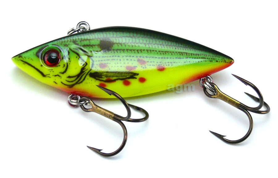 """Cordell 2.5"""" Rattle Spot - Wounded Tiger Shad"""