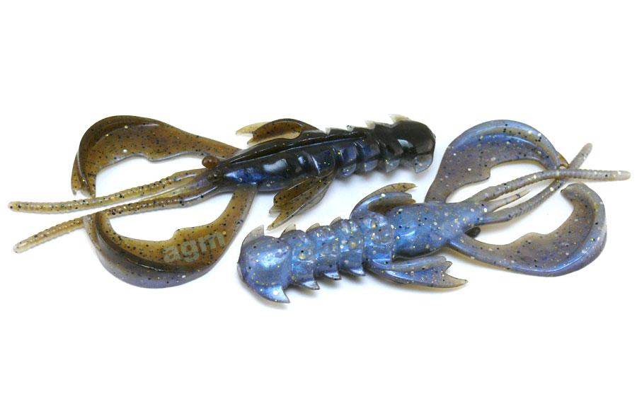 """Crazy Fish 5"""" Nimble - 3D Swamp Pearl (3pcs)"""