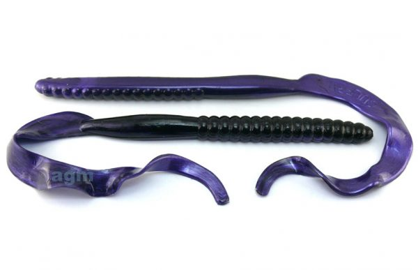 "Culprit Original 12"" Worm - Grape Shad (5pcs)"