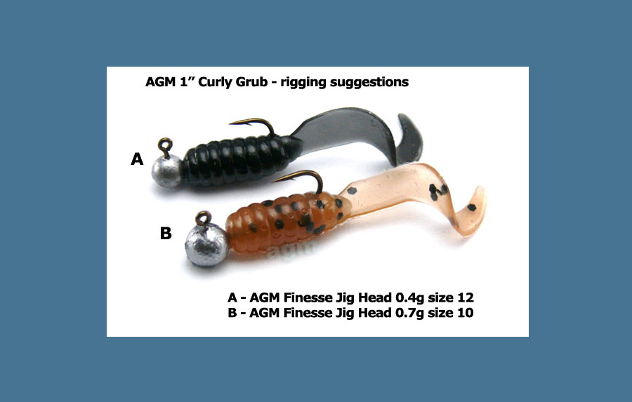 1in-curly-grub-rigged